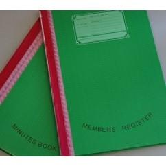 Members' Register & Minutes Book